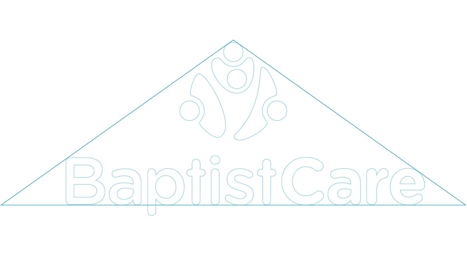 BaptistCare masterbrand brand structure.