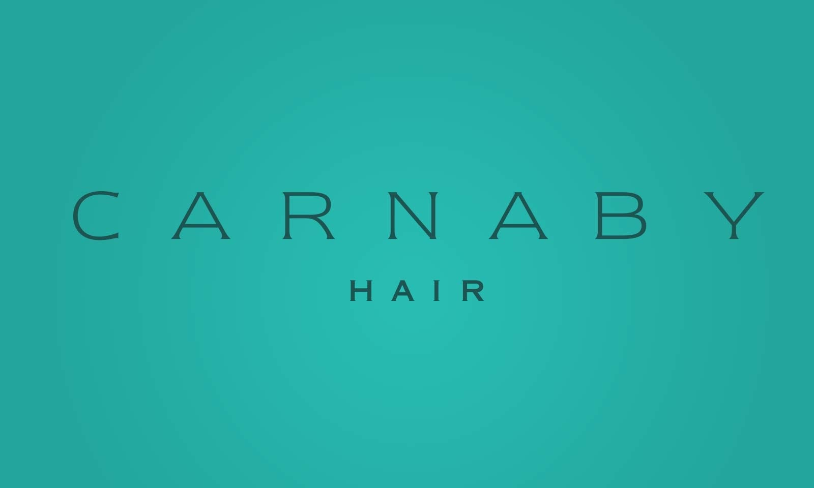 New look and feel for company sydney, Carnaby Hair masterbrand.