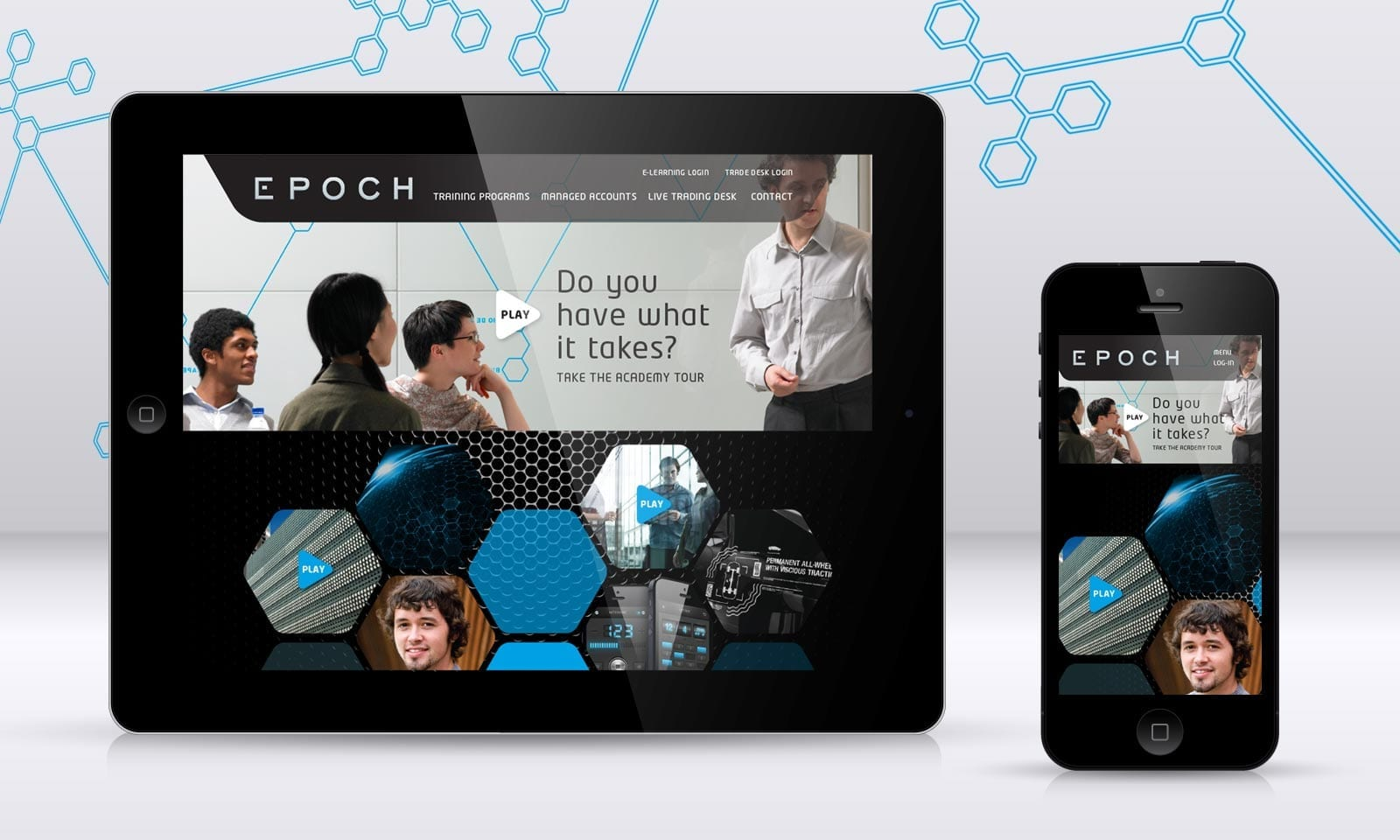 Epoch responsive website
