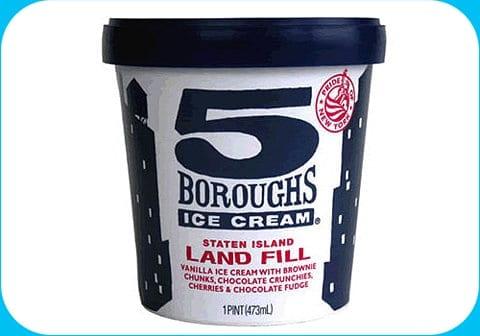 Packaging design icecream