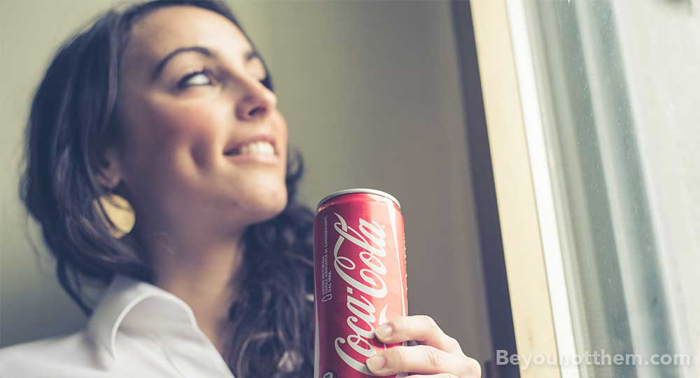 Since it's conceptualisation Coca–Cola has been a synonym to 'Happiness and Sharing'.