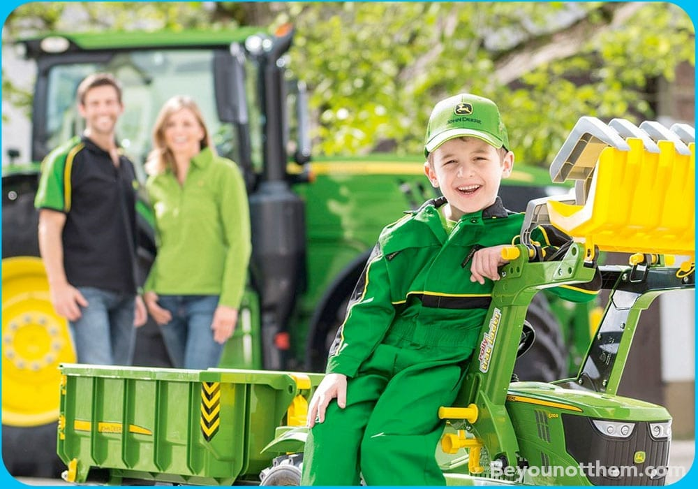 """Does your branded collateral deliver on your brands' and customers values. <a href=""""https://www.johndeerestore.com"""">John Deere</a> want their bran in the hands of future customers from a young age."""