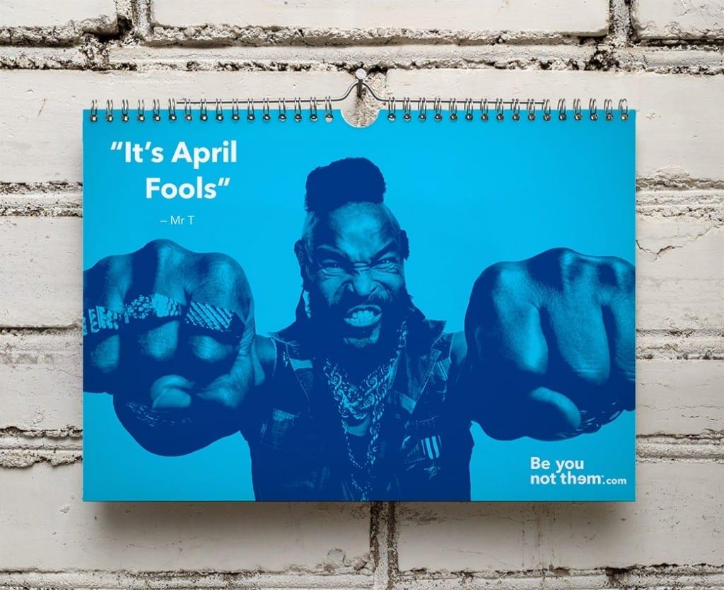 Its a BA calendar.