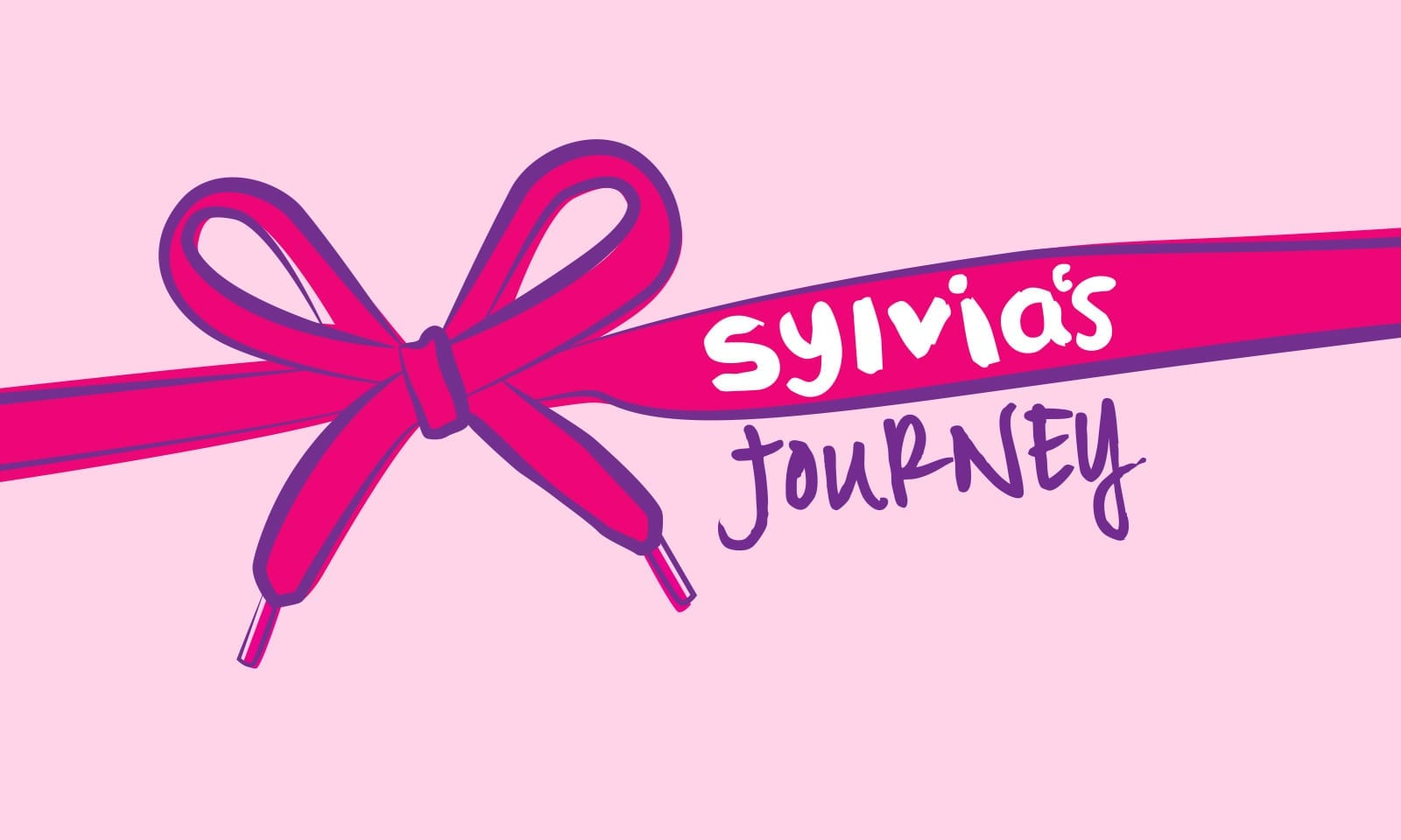 Best corporate identity sydney, Sylvia's Journey masterbrand and iconic pink shoelaces brand designfor the Australian based charity.